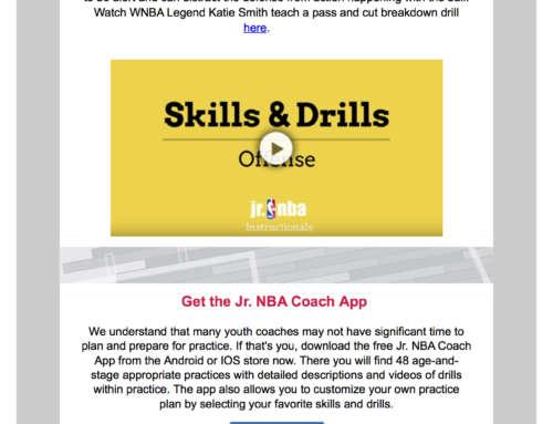 Jr. NBA Newsletter