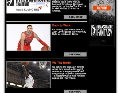 NBA G League Newsletter